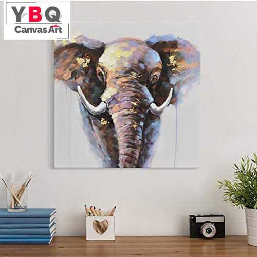 Canvas Painting Ideas For Living Room Wild Baby Elephant Framed Artwork Supplier Price Art Manufacturers